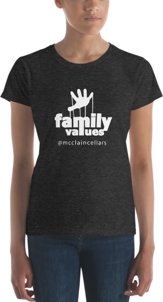 4a9af4818118b Women s Family Values short sleeve t-shirt