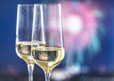 The History Behind Your New Year's Eve Champagne Toast