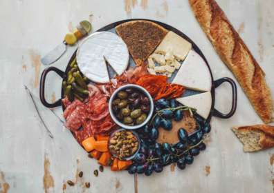 Olives, Cheeses, and Wine: Dinner Party Cheese Board Tips
