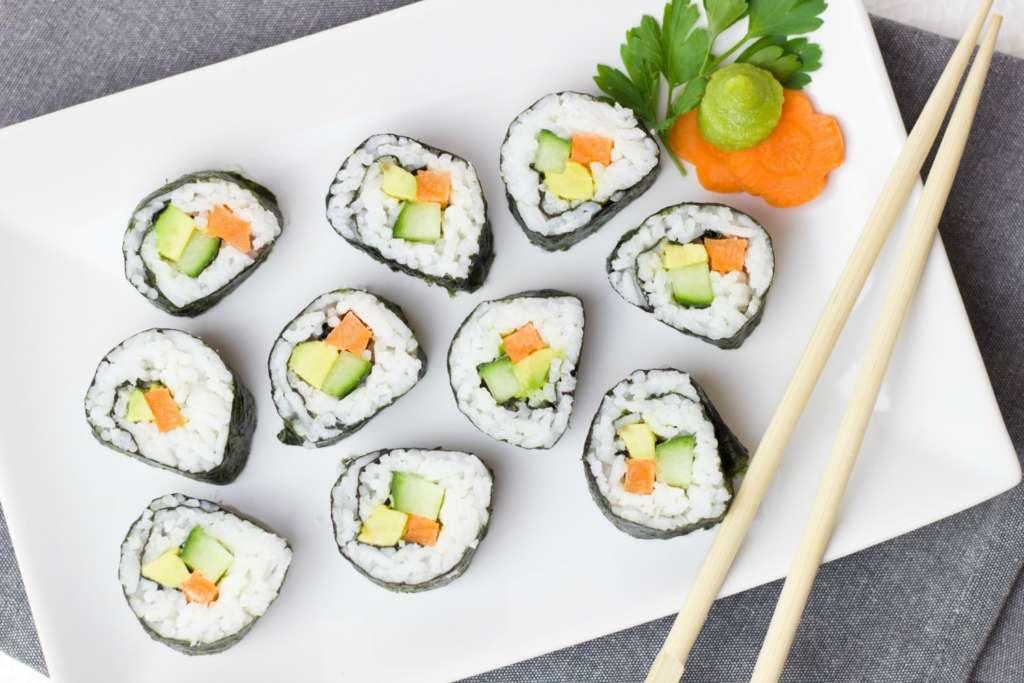 wine and sushi pairings