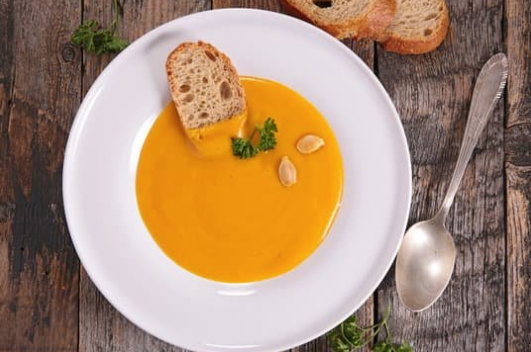 butternut squash soup and wine pairing
