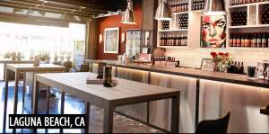 McClain Cellar's Laguna Beach Wine Tasting Lounge