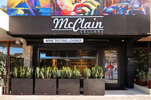 Front Entrance of McClain Cellars